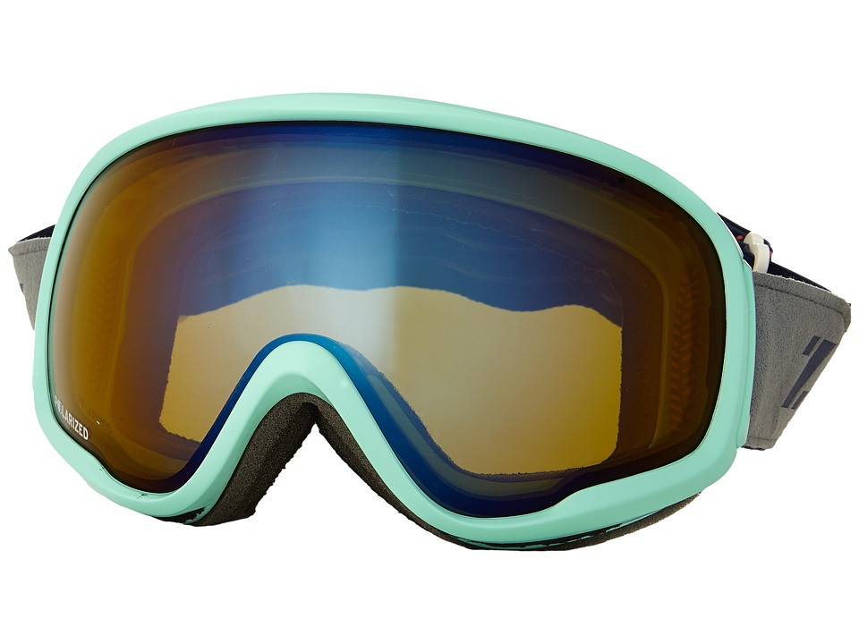 Zeal Optics - Forecast (Artic Mint/Polarized Bluebird HT Lens) Goggles