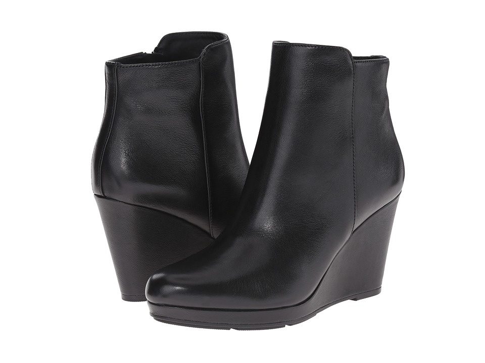 Via Spiga - Darina (Black Toldedo Tumbled Calf) Women