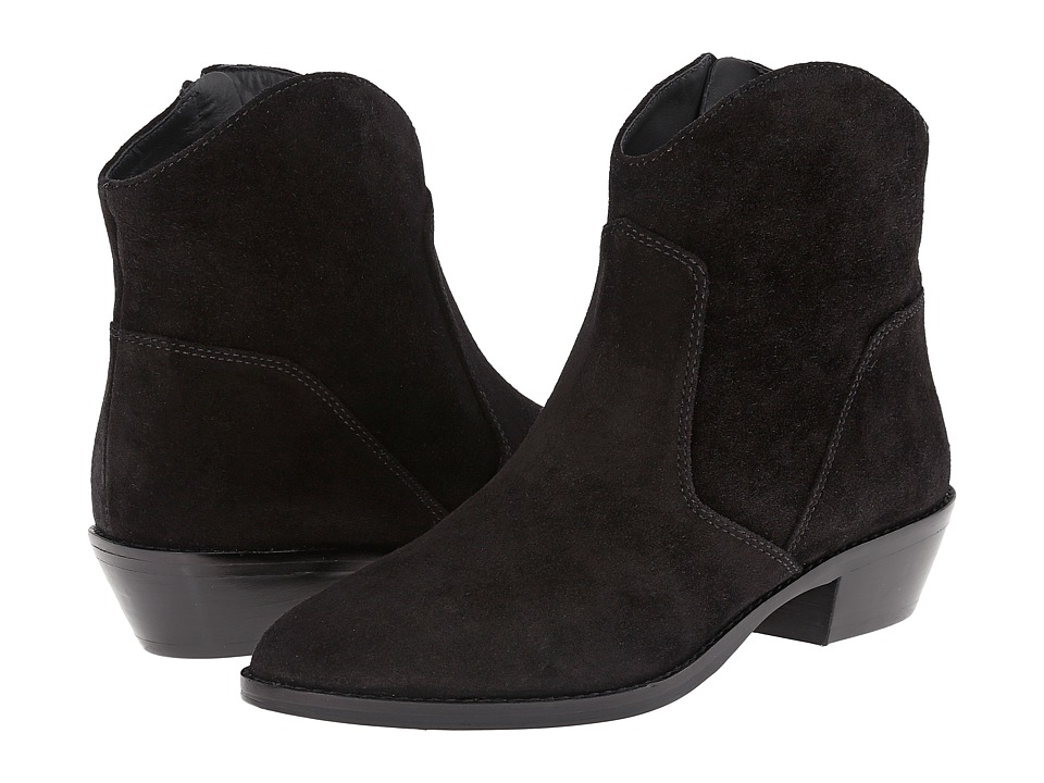 Via Spiga Franka (Black Sport Suede) Women