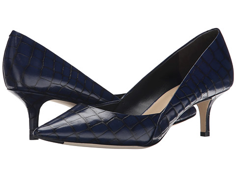 Via Spiga - Medora (Navy Tobarra Croc Print) Women