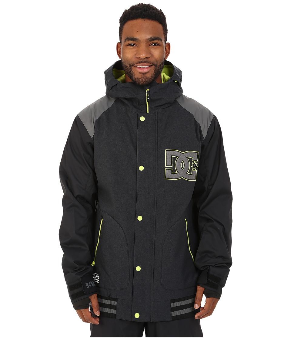 DC - Dcla Snow Jacket (Anthracite) Men's Coat