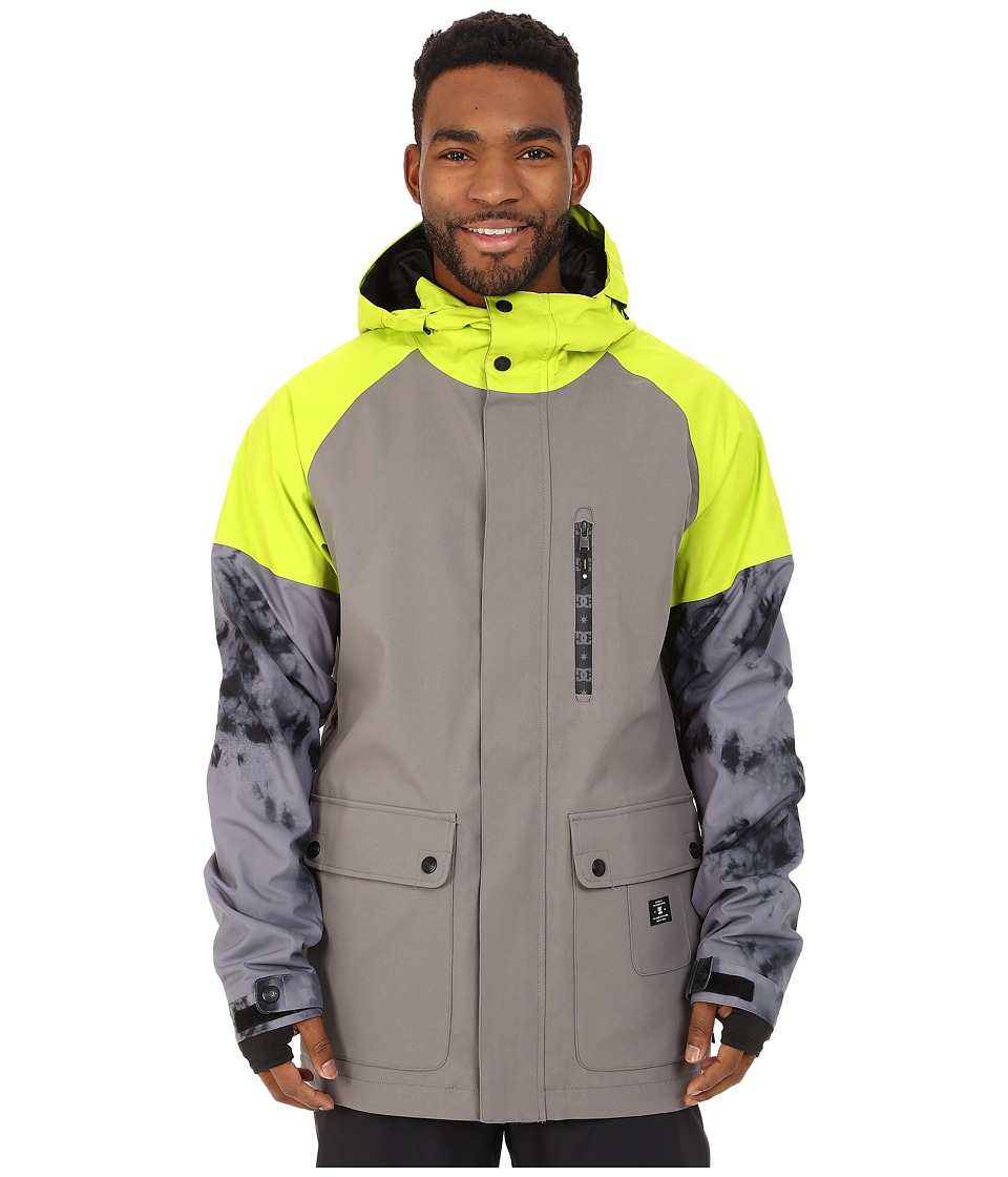 DC - Clout Snow Jacket (Pewter) Men's Coat