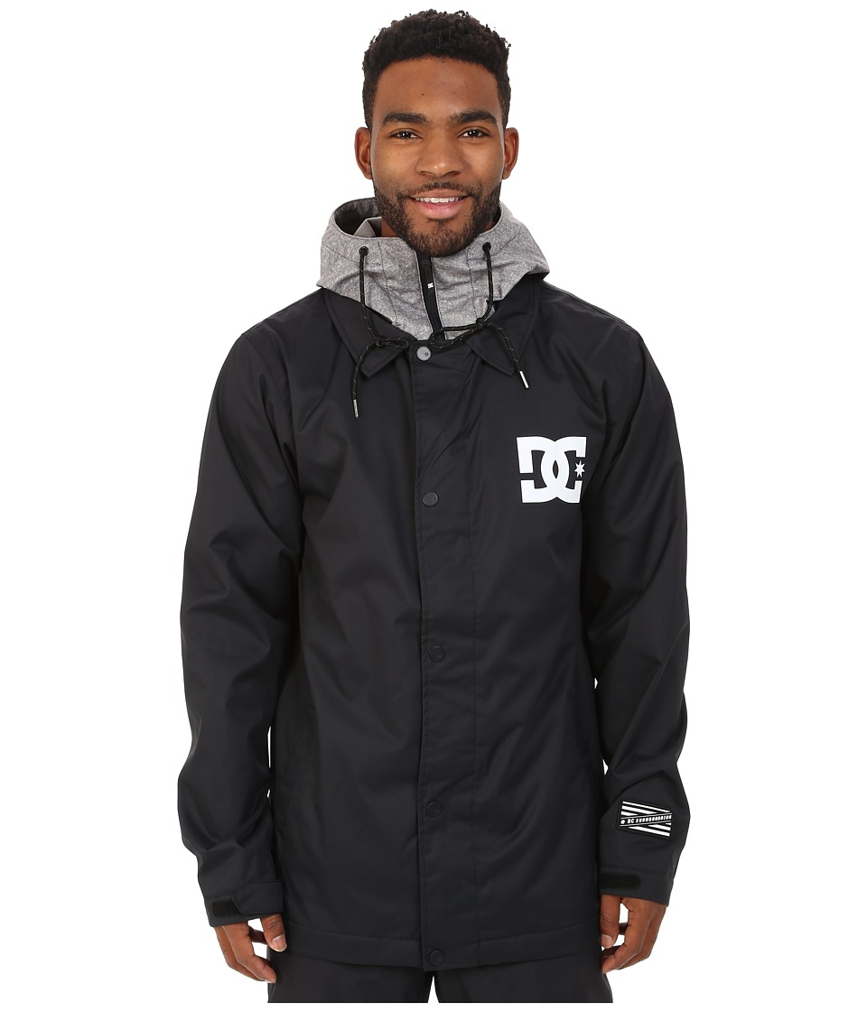 DC - Cash Only Snow Jacket (Anthracite) Men's Coat