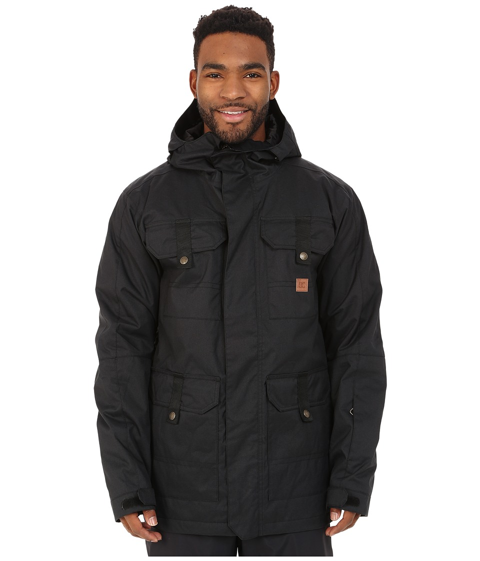 DC - Servo Snow Jacket (Anthracite) Men's Coat