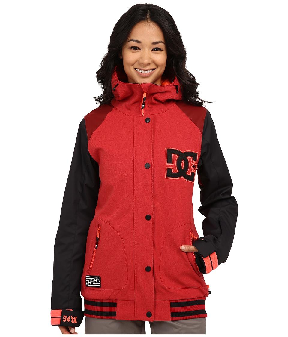 DC - Dcla J Snow Jacket (American Beauty) Women's Coat