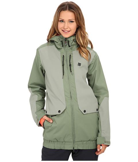 DC - Riji J Snow Jacket (Sea Spray) Women's Coat