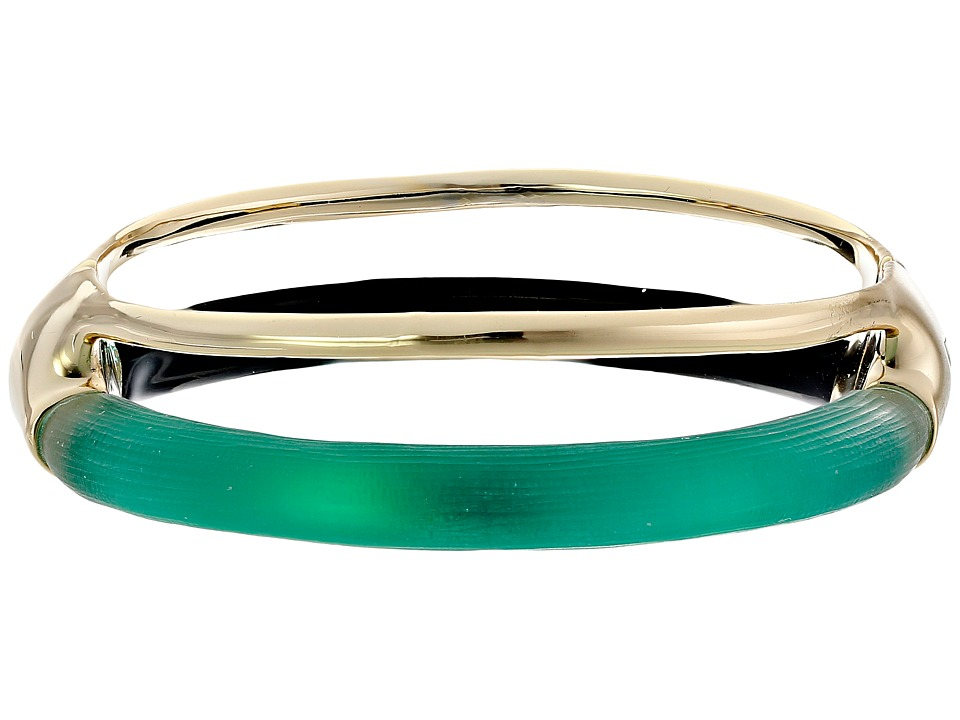 Alexis Bittar - Double Band Liquid Hinge Bracelet (Leaf Green) Bracelet