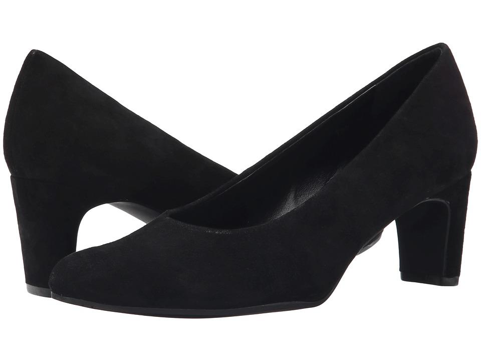 Vaneli - Drusilla (Black Suede) High Heels