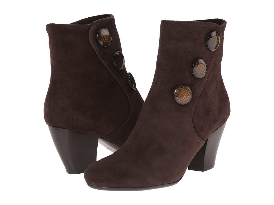 Vaneli - Jessy (T.Moro Suede/Matching Mop Buttons) Women's Boots