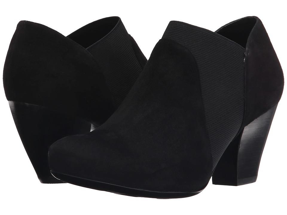 Vaneli - Johanna (Black Suede) High Heels