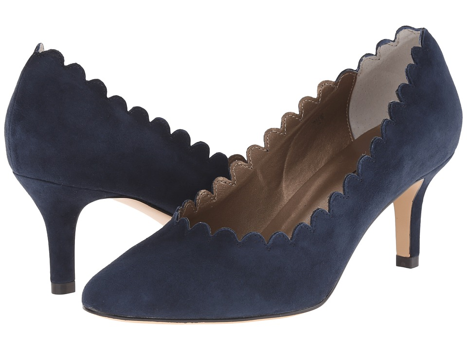 Vaneli - Louise (Navy Suede) High Heels