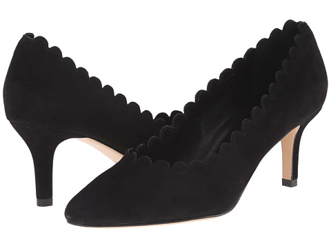 Vaneli - Louise (Black Suede) High Heels