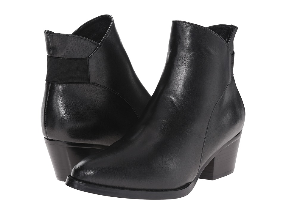 Vaneli - Reagan (Black Nappa/Matching Elastic) Women's Pull-on Boots