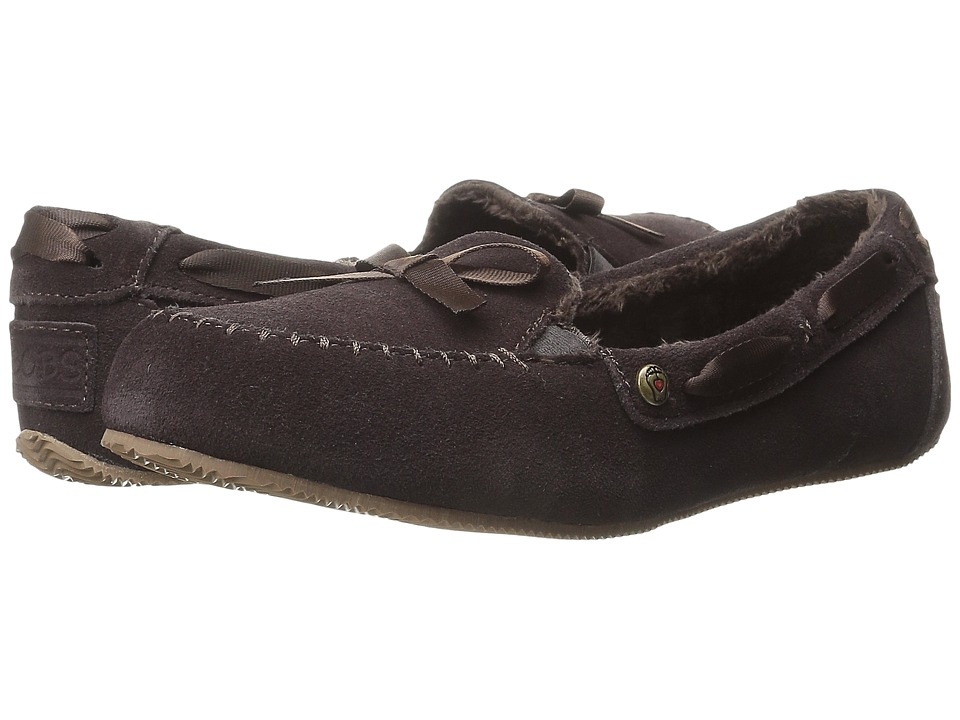 BOBS from SKECHERS Bobs Cozy JR (Chocolate) Women
