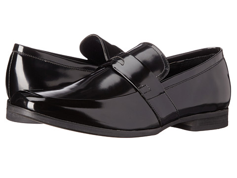 Calvin Klein - Carrigan (Black Box Smooth) Men's Slip-on Dress Shoes