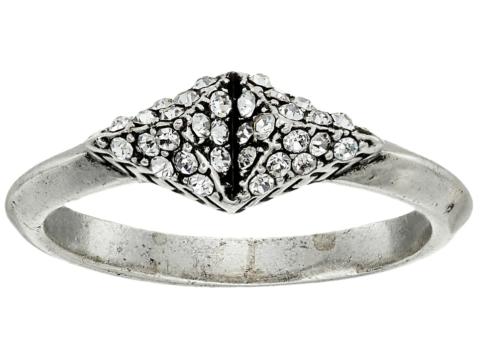 House of Harlow 1960 - Sama Pave Ring (Silver) Ring