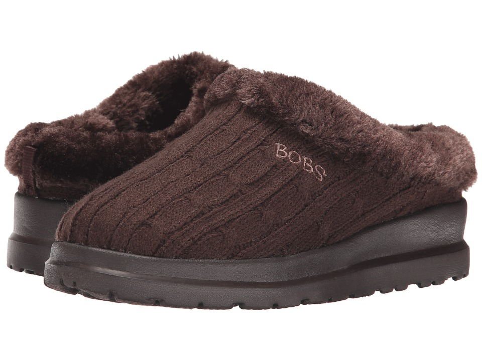 BOBS from SKECHERS - Cherish - Wonder (Chocolate) Women's Slip on Shoes