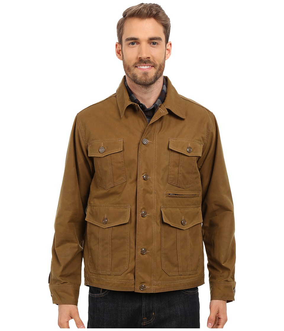 Filson - Westlake Waxed Jacket (Dark Tan) Men's Coat