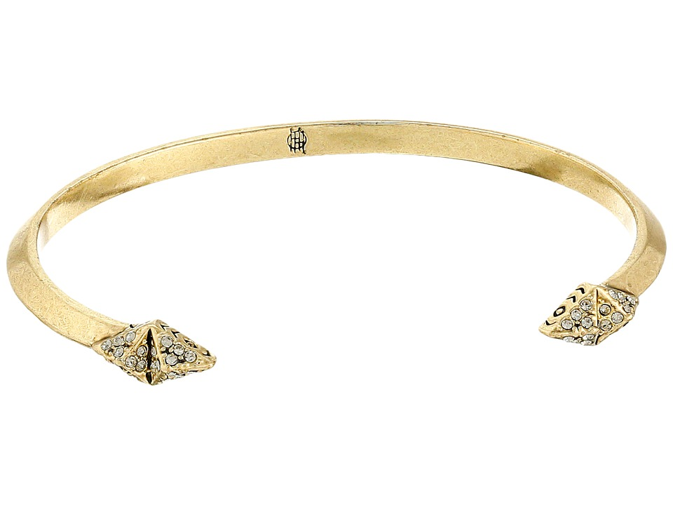 House of Harlow 1960 - Sama Diamond Points Cuff Bracelet (Gold) Bracelet
