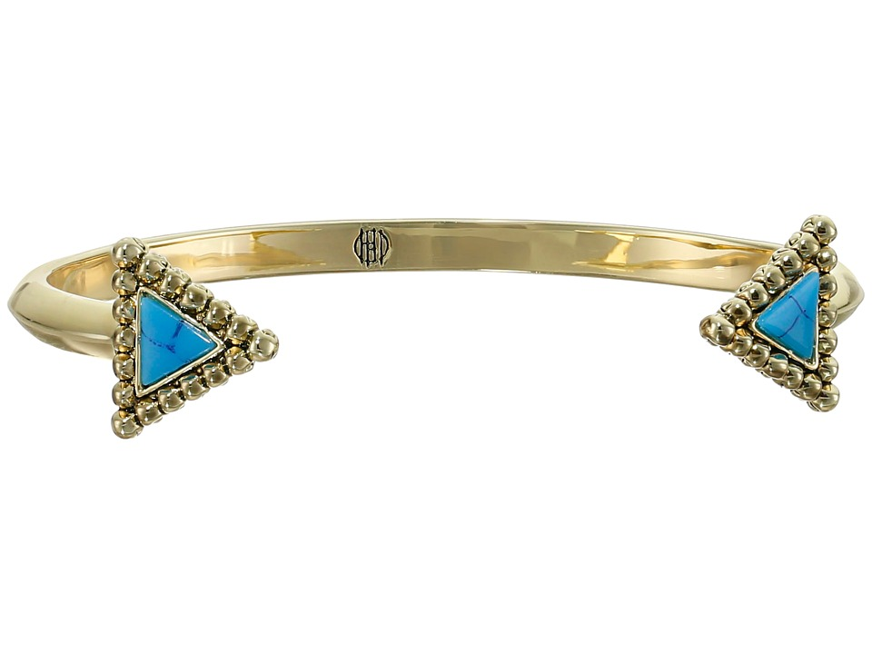 House of Harlow 1960 - Native Legend Cuff Bracelet (Turquoise) Bracelet