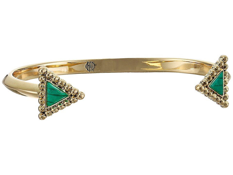 House of Harlow 1960 - Native Legend Cuff Bracelet (Malachite) Bracelet
