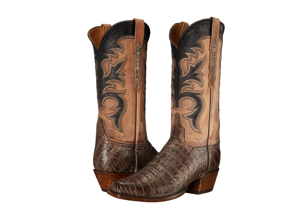 Lucchese - L1377.74 (Brown) Cowboy Boots