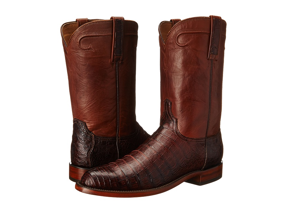 Lucchese - Waller (Barrel Brown) Cowboy Boots