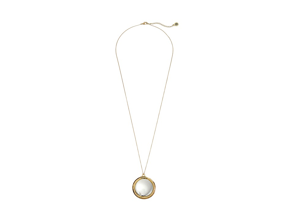 House of Harlow 1960 - Caral Culture Pendant Necklace (Two-Tone) Necklace