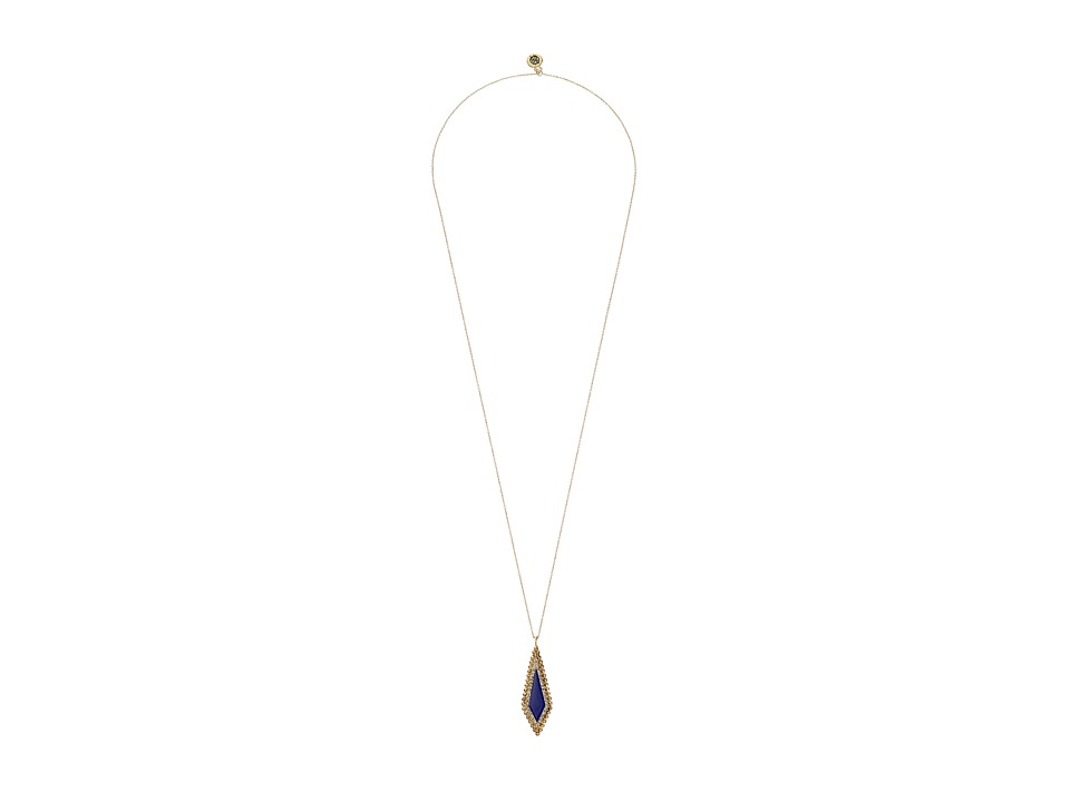 House of Harlow 1960 - Native Legend Pendant Necklace (Lapis) Necklace
