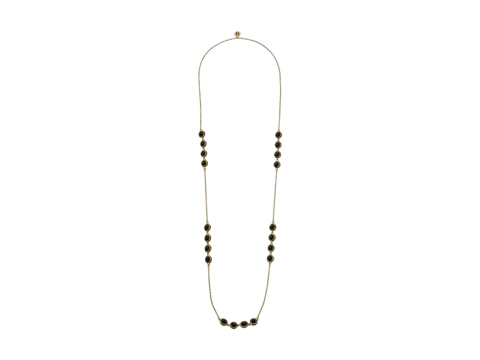 House of Harlow 1960 - Cuzco Station Necklace (Grey Cat's Eye) Necklace
