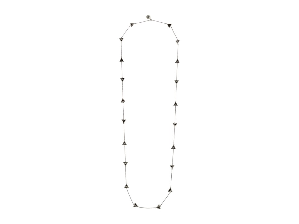 House of Harlow 1960 - Cerro Torre Station Necklace (Silver) Necklace