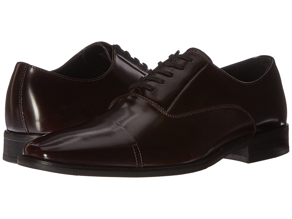 Calvin Klein - Radley (Burgundy Brush-Off Smooth) Men's Lace up casual Shoes