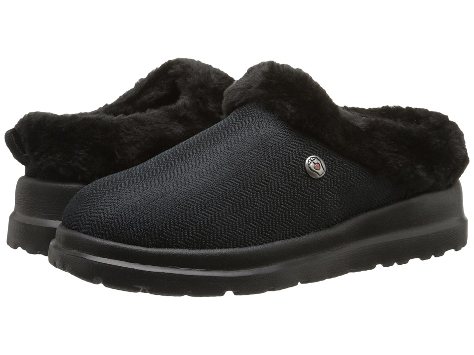 BOBS from SKECHERS Cherish Cuddlers (Black/Black) Women