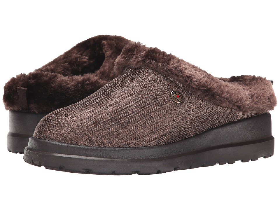 BOBS from SKECHERS Cherish Cuddlers (Chocolate) Women's Slip on Shoes