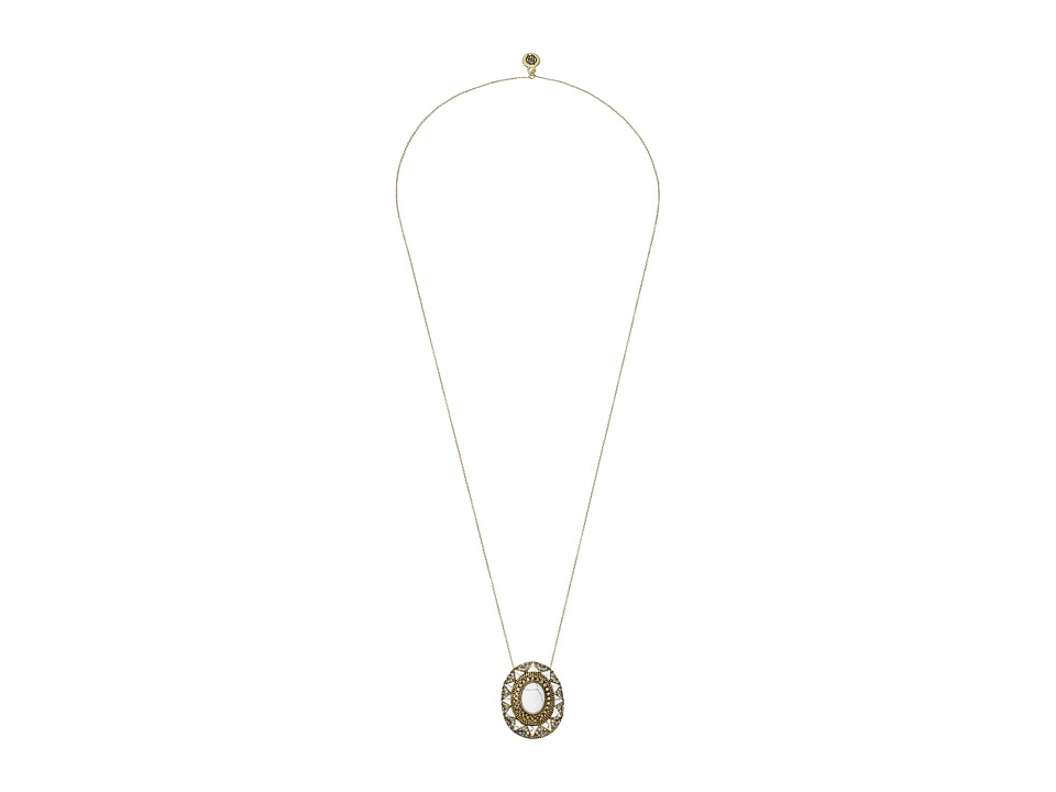 House of Harlow 1960 - Wari Runis Pendant Necklace (Howlite) Necklace