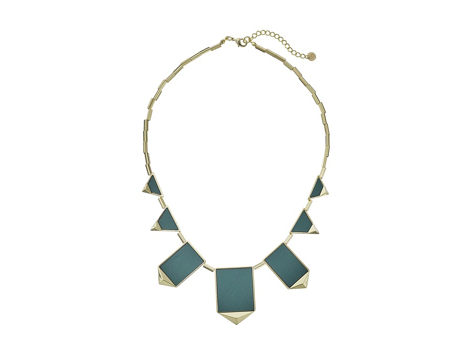House of Harlow 1960 - Classic Station Necklace (Juniper) Necklace