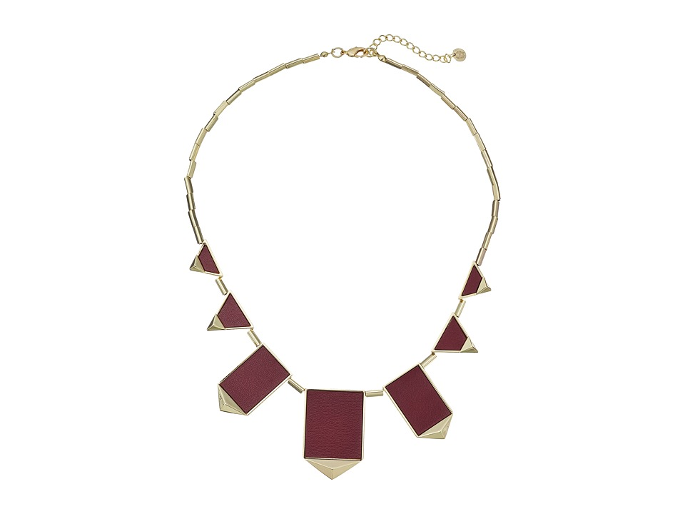 House of Harlow 1960 - Classic Station Necklace (Sangria) Necklace