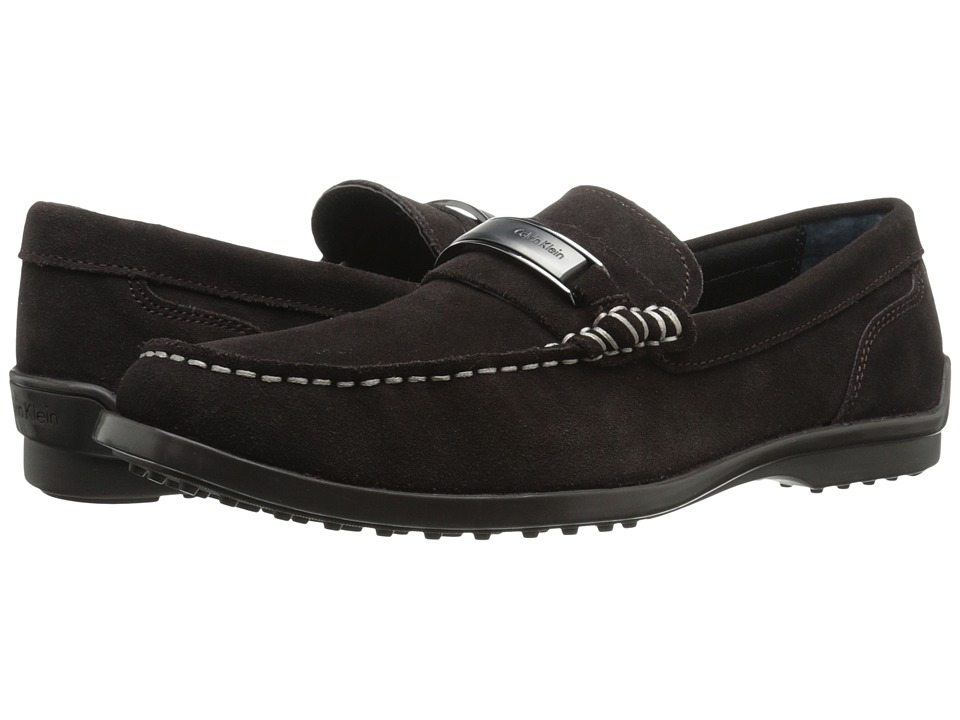 Calvin Klein - Keeran (Dark Brown Suede) Men