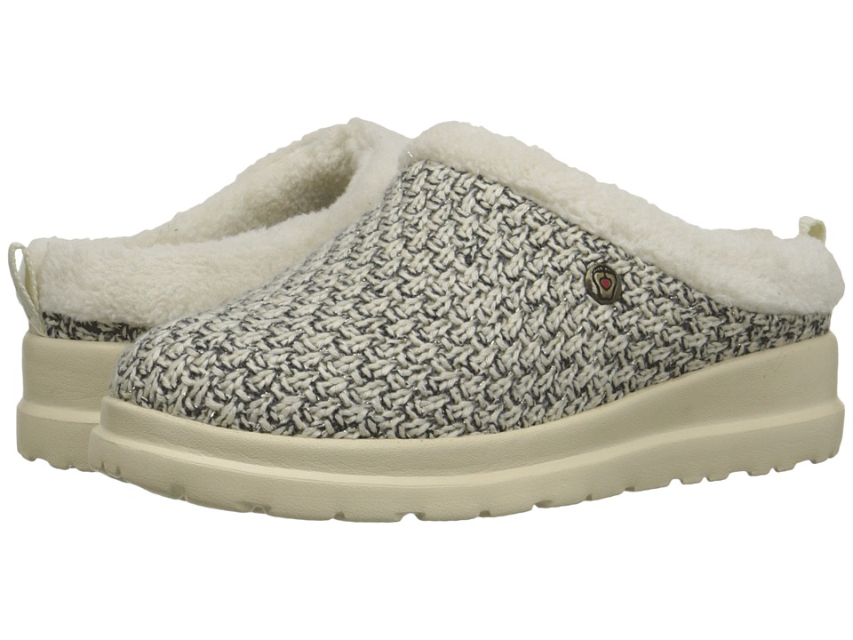 BOBS from SKECHERS - Cherish - Snow Angel (Natural) Women's Slip on Shoes