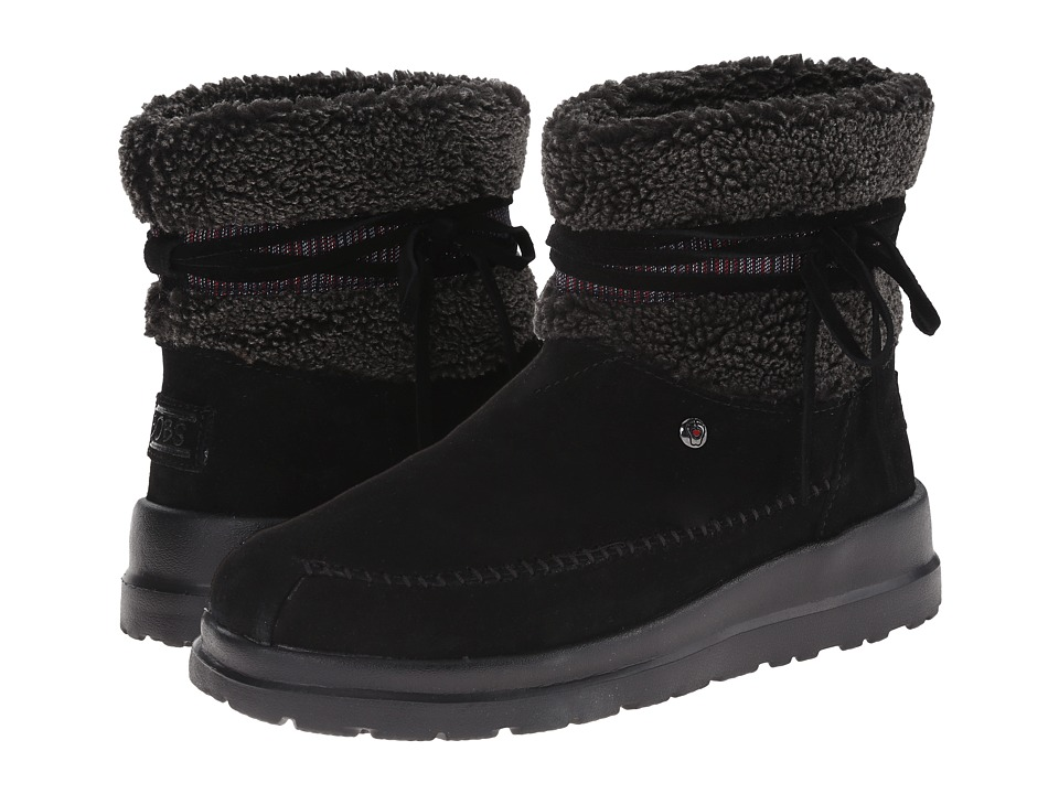BOBS from SKECHERS - Cherish - Run Free (Black) Women's Boots