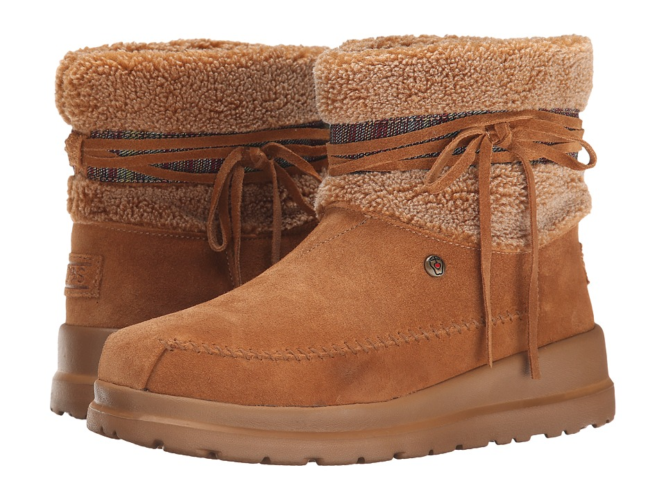 BOBS from SKECHERS - Cherish - Run Free (Chestnut) Women's Boots