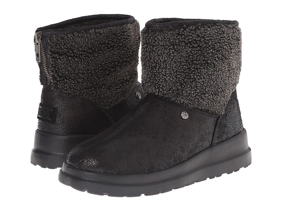 BOBS from SKECHERS - Cherish - Freedom Ri (Black) Women's Boots
