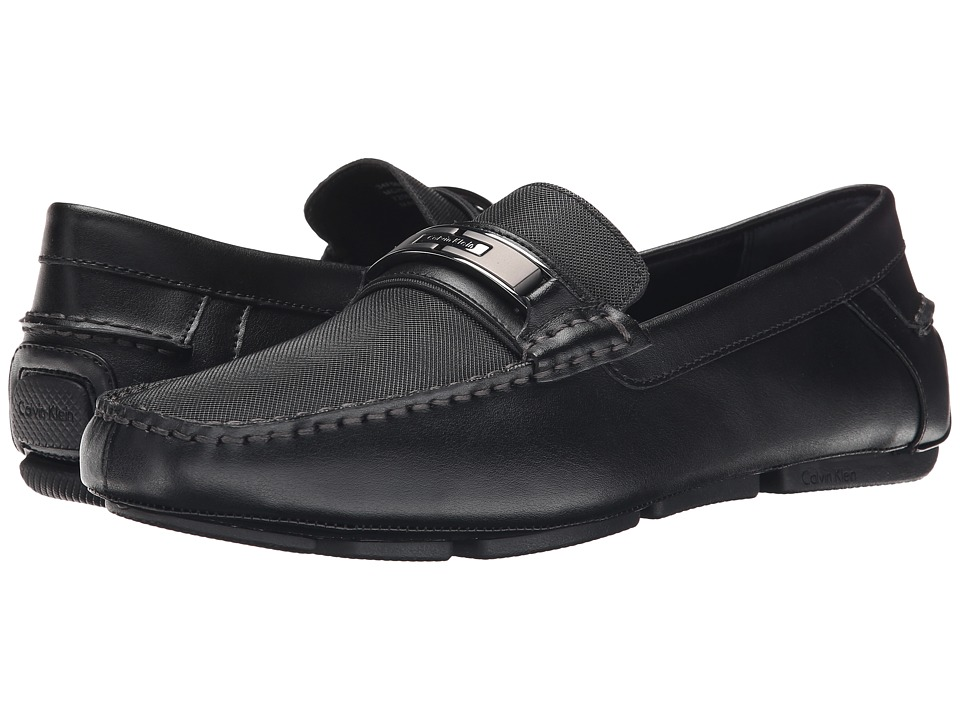 Calvin Klein Mchale (Black Diamond Leather) Men