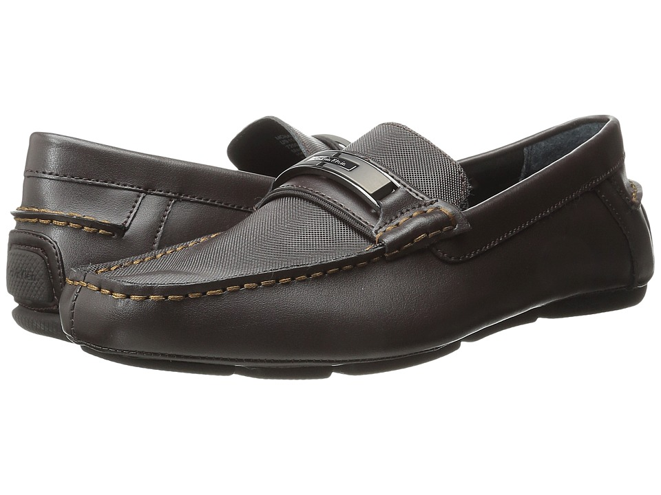Calvin Klein Mchale (Dark Brown Diamond Leather) Men