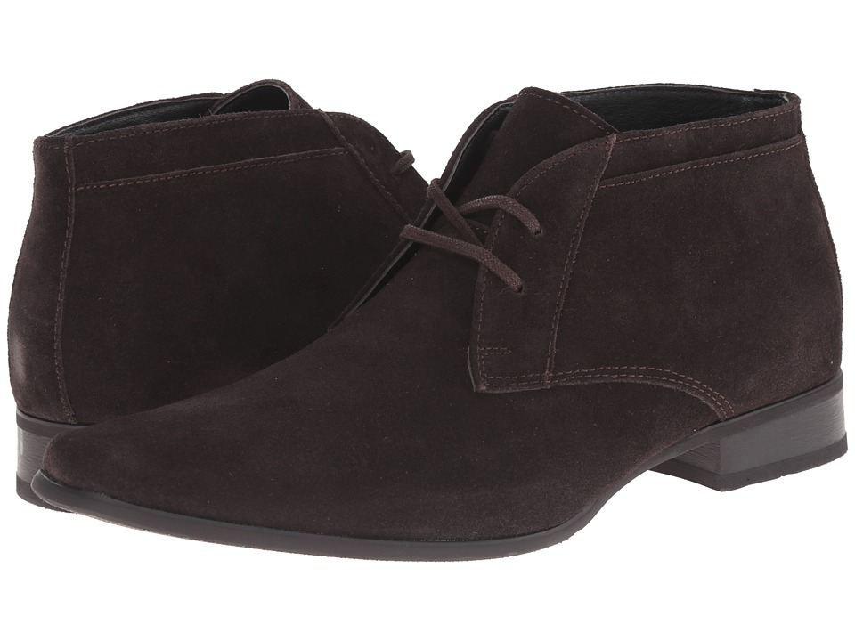 Calvin Klein Ballard (Dark Brown Suede) Men