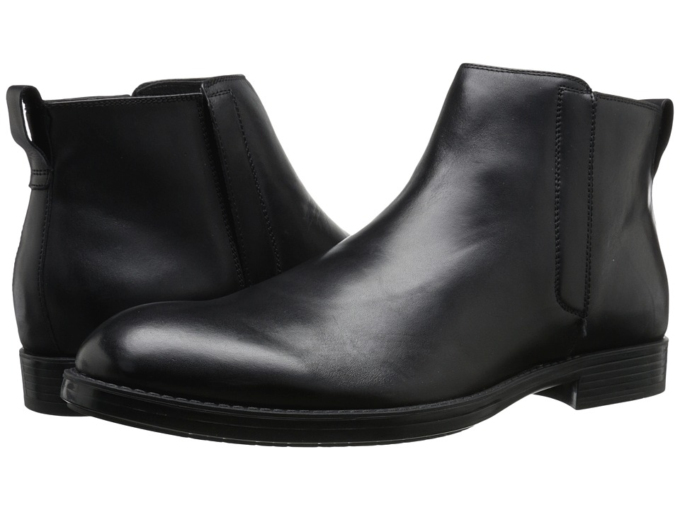 Calvin Klein - Hartley (Black Leather) Men