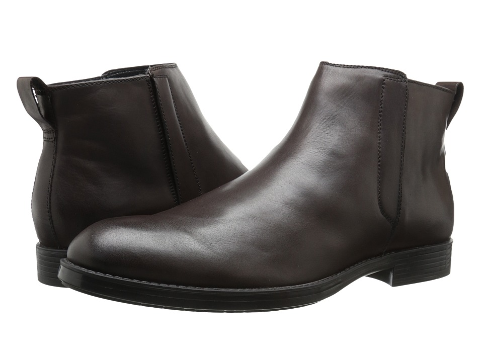 Calvin Klein Hartley (Dark Brown Leather) Men
