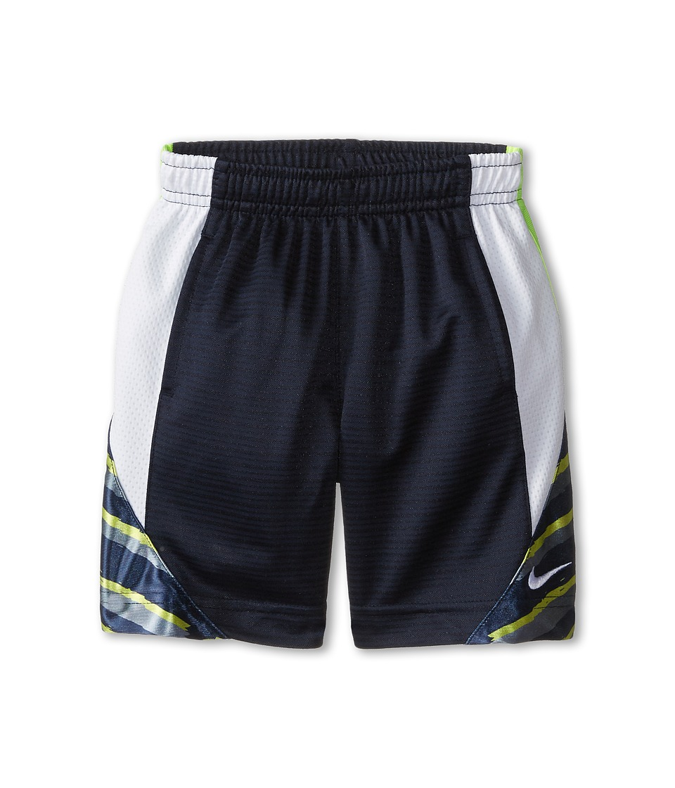 Nike Kids - Avalanche GFX 2.0 Shorts (Toddler) (Obsidian) Boy
