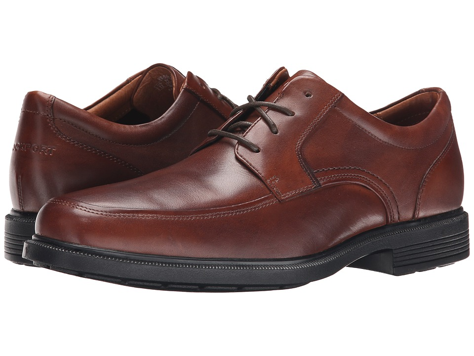 Rockport - Dressports Luxe Apron Toe Ox (New Brown) Men's Shoes