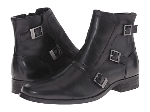 Calvin Klein - Stark (Black Leather) Men's Boots
